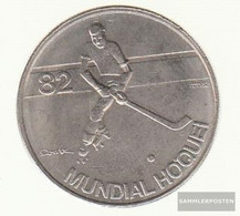 Portugal Km-number. : 615 1983 Extremely Fine Copper-Nickel Extremely Fine 1983 5 Escudos Hockey - Portugal