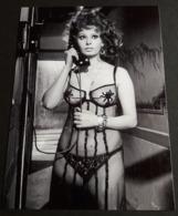 SOPHIA LOREN # Sexy Pin-Up Girl Portrait # Großes Star-Photo, Ca. 13 X 18 Cm # [19-4552] - Fotos