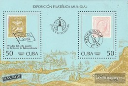 Cuba Block96 (complete.issue) Fine Used / Cancelled 1986 STOCKHOLMIA `86 - Blocks & Sheetlets