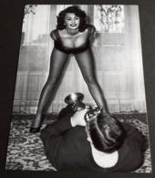 SOPHIA LOREN # Sexy Pin-Up Girl Portrait # Großes Star-Photo, Ca. 13 X 18 Cm # [19-4553] - Fotos