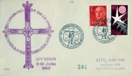 1960 , ASTURIAS / OVIEDO - III CONGRESO NACIONAL SOCIEDAD ESPAÑOLA DE REHABILITACIÓN - 1931-Hoy: 2ª República - ... Juan Carlos I