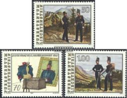 Liechtenstein 1020-1022 (complete Issue) Unmounted Mint / Never Hinged 1991 Military Deployment - Liechtenstein
