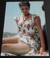 SOPHIA LOREN # Sexy Portrait # Großes Star-Photo, Ca. 13 X 18 Cm # [19-4562] - Fotos
