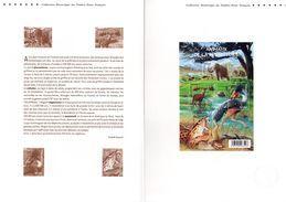 """"""" ANIMAUX DE LA PREHISTOIRE """"  Sur Document Officiel De 4 Pages De 2008. N° YT BF 119. Parfait état. DPO - Préhistoire"""