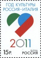 Russia, Joint ITALIA, Italy 2011, 1 Stamp - Unused Stamps