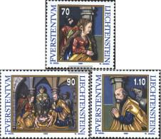 Liechtenstein 1183-1185 (complete Issue) Unmounted Mint / Never Hinged 1998 Christmas - Liechtenstein