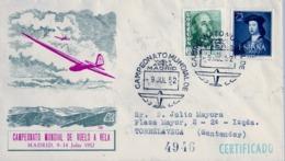 1952 , MADRID - CAMPEONATO MUNDIAL DE VUELO A VELA , AVIONES , AVIACIÓN - 1931-Hoy: 2ª República - ... Juan Carlos I