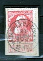 Nr 74 Gestempeld Frasnes Lez Couvin (sterstempel) Coba 10 - 1905 Grosse Barbe