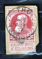 Nr 74 Gestempeld Thulin Coba 8 - 1905 Grosse Barbe