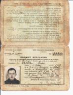 Brevet Militaire Pour Conduite Automobiles De L'armée. Henri VICTOR Né En 1917 à Bourges. Corps Instructeur Reims. - Unclassified