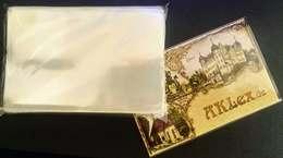 100 Ansichtskarten Schutzhüllen KOBRA T12 Postkarten Fotos Maße 97x149x0,075mm - Materiali