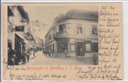 Maribor, Marburg A.d. Drau, Caffe Central, Julius Rupprich, 1899 - Slovenia