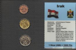 Iraq 2004 Stgl./unzirkuliert Kursmünzen 2004 25 Dinar Until 100 Dinar - Iraq