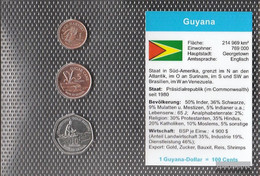 Guyana Stgl./unzirkuliert Kursmünzen Stgl./unzirkuliert 2005-2007 1 US Dollars Until 10 US Dollarss - Guyana