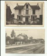 70 - Haute Saone - Faverney - Amance - Gare De Port D'Atelier- Arrivée Du Train - Nouvel Hotel - - France