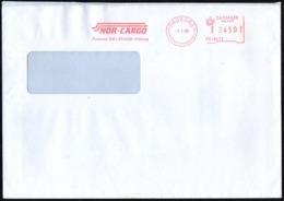 DANMARK PADBORG 1999 - METER / EMA - NOR-CARGO - SHIPPING - Affrancature Meccaniche Rosse (EMA)