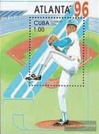 Cuba Block142 (complete Issue) Fine Used / Cancelled 1996 Olympic. Summer`96, Atlanta - Blocks & Sheetlets