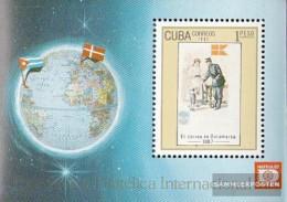 Cuba Block100 (complete Issue) Fine Used / Cancelled 1987 HAFNIA '87, Copenhagen - Blocks & Sheetlets