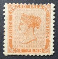Prince Edouard: Yvert N° 4 (Effigie De Victoria, 1864-1869) Neuf (*) - Prince Edward (Insel)