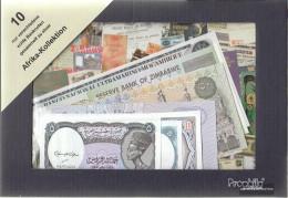 Africa 10 Different Banknotes - Bankbiljetten