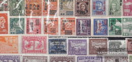 China 100 Different Stamps  With Areas (Z.B. Taiwan) - Monnaies & Billets