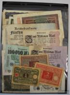 German Empire 20 Different Banknotes  Weimar Republic - [ 4] 1933-1945 : Terzo  Reich