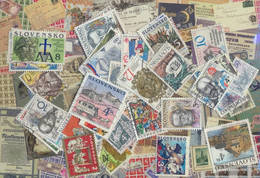 Slovakia Ab 1993 Stamps-75 Different Stamps - Slovakia