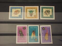 VIETNAM - 1965 INSETTI 6 VALORI - NUOVI(++) - Vietnam