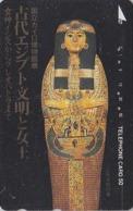 Télécarte Japon / 110-011 - Antiquité Histoire - EGYPTE / Momie - EGYPT Japan Phonecard - ÄGYPTEN - 247 - Cultura