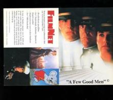 Pub A Few Good Men FilmNet Chaine Télé Movie Cinema   AD Post NL # 46/47 - Posters On Cards