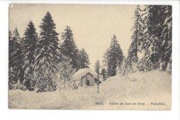 23511 - Vallée De Joux En Hiver Petrafélix + Cachet Le Pont 1909 - VD Waadt