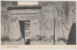 Egypt - Vintage Post Card - Philae Temple - Aegyptologie
