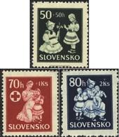 Slovacchia 112-114 (completa Edizione) MNH 1943 Aiuto Per Bambini - Slovaquie