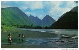 Carte Postale Tahiti  Mont Roniu Et L'embouchure De La Vaitapiha  Tautira Trés Beau Plan - Tahiti