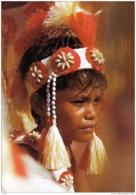 Carte Postale Polynésie  Tahiti  Jeune Polynésien Trés Beau Plan - Frans-Polynesië