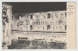 Egypt - Vintage Post Card - Seti I Temple - Aegyptologie