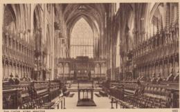 Postcard The Choir York Minster My Ref  B13746 - York