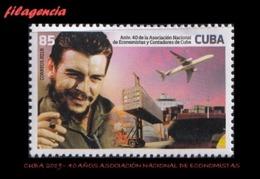 CUBA MINT. 2019-23 40 ANIVERSARIO DE LA ASOCIACIÓN NACIONAL DE ECONOMISTAS. ERNESTO CHE GUEVARA - Cuba