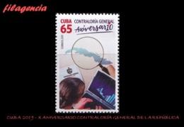 CUBA MINT. 2019-24 X ANIVERSARIO DE LA CONTRALORÍA NACIONAL DE LA REPÚBLICA - Cuba