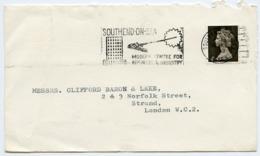 Slogan Postmark On Cover SOUTHEND ON SEA 1967 / Strand, London - 1952-.... (Elizabeth II)