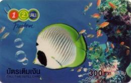 TAILANDIA. PEZ - FISH. Freedom Nature (Plastic) 01. 06/2004. TH-12Call-0123. (057) - Peces