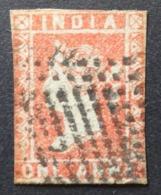 Inde Anglaise: Yvert N° 3 (Victoria 1854) Oblitéré - India (...-1947)