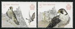 "SAN MARINO/ SAINT-MARIN - EUROPA 2019 -NATIONAL BIRDS.-""AVES - BIRDS - VÖGEL -OISEAUX""- SET Of 2 Stamps With LOGO EUROPA - 2019"