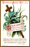 Souvenir De L'Abbaye Notre-Dame D'IGNY (Marne) - Maximes Chrétiennes Conseils Spirituels : Il Faut Faire Comme  ... TBE - Devotion Images