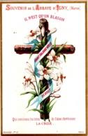 Souvenir De L'Abbaye Notre-Dame D'IGNY (Marne) - Il N'est Qu'un Blason Qui Contienne Les Titres De L'âme, LA CROIX - TBE - Devotion Images