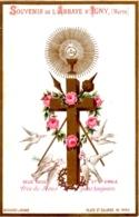 Souvenir De L'Abbaye Notre-Dame D'IGNY (Marne) - Deus Meus Et Omnia Près De Jésus Pour Toujours - TBE - Devotion Images