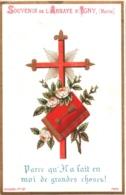 Souvenir De L'Abbaye Notre-Dame D'IGNY (Marne) - Parce Qu'Il A Fait En Moi De Grandes Choses ! - TBE - Devotion Images