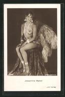 AK Schauspielerin Josephine Baker Im Sexy Bühnen-Kostüm - Acteurs