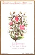 Souvenir De L'Abbaye Notre-Dame D'IGNY (Marne) - La Dévotion Au Coeur Divin De Jésus Sauvera Le Monde - TBE - Devotion Images