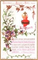 Souvenir De L'Abbaye Notre-Dame D'IGNY (Marne) - La Force Est Une Vertu Qui Maintient L'homme Dans Les Limites ... - TBE - Devotion Images